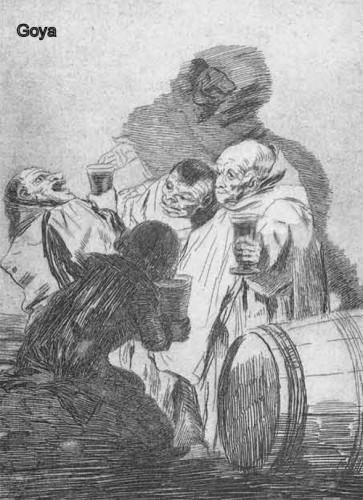 dopo la castagna: il ciarlatano a tavola