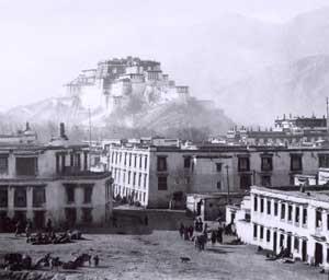 catturato in tibet
